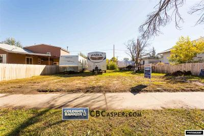Casper Residential Lots & Land For Sale: 1235 Locust