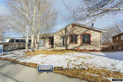 Buffalo Single Family Home For Sale: 505 Sourdough
