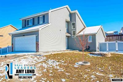 Casper, Evansville, Bar Nunn, Glenrock, Douglas, Midwest, Alcova Single Family Home For Sale: 2465 Fairdale