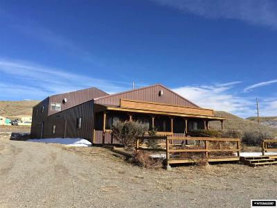 Dubois,  Kinnear,  Crowheart, Pavillion Commercial For Sale: 4 Absaroka