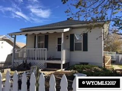 Casper WY Single Family Home Back On Market: $122,000