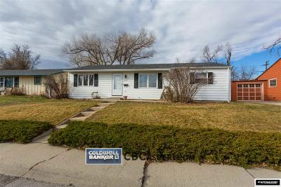 Casper Single Family Home For Sale: 2220 S Mitchell