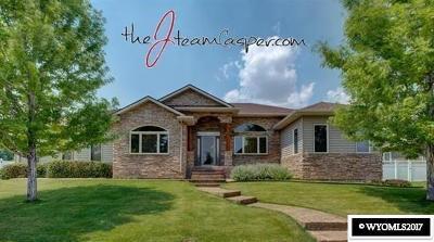 Casper Single Family Home For Sale: 1700 Elkhorn Valley