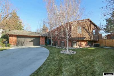 Casper Single Family Home For Sale: 3305 Bella Vista