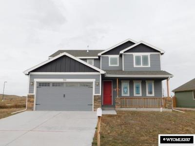 Douglas Single Family Home For Sale: 726 S Wind River