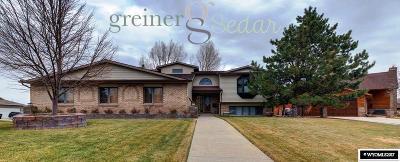 Casper Single Family Home For Sale: 3640 Eagle