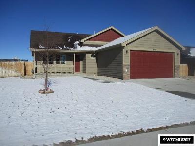 Single Family Home For Sale: 2140 Lakota Trail