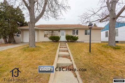 Casper Single Family Home For Sale: 237 N Nebraska