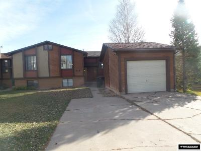 Evanston WY Single Family Home For Sale: $75,200