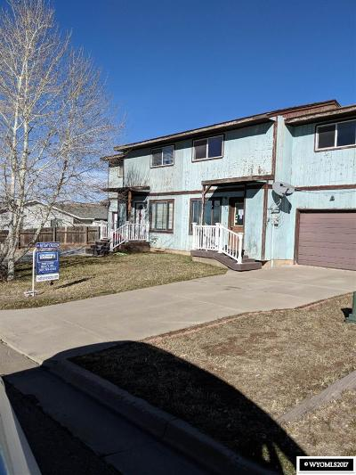 Evanston WY Single Family Home For Sale: $61,000