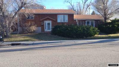 Casper Single Family Home For Sale: 1821 Glendale