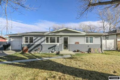 Casper Single Family Home For Sale: 103 Dahlia