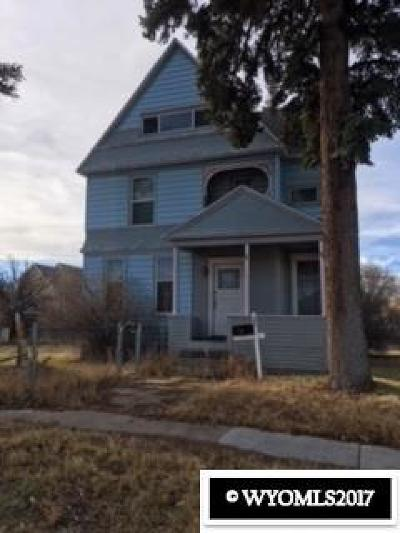 Evanston WY Single Family Home For Sale: $155,000