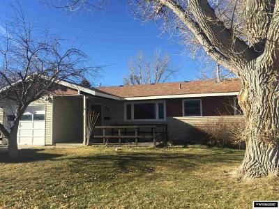 Casper Single Family Home For Sale: 56 Dahlia