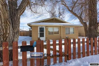 Casper Single Family Home For Sale: 827 St. John