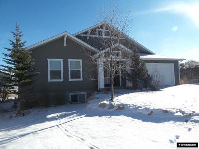 Evanston WY Single Family Home For Sale: $279,900