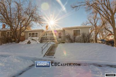 Casper Single Family Home For Sale: 705 E 14th