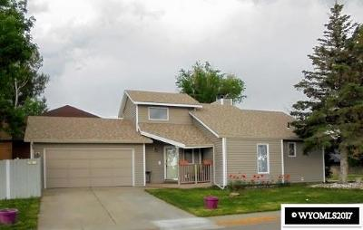 Casper Single Family Home For Sale: 3311 Stagecoach
