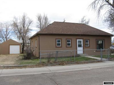 Casper Single Family Home For Sale: 1163 N Melrose