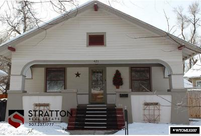 Casper Single Family Home For Sale: 421 Divine