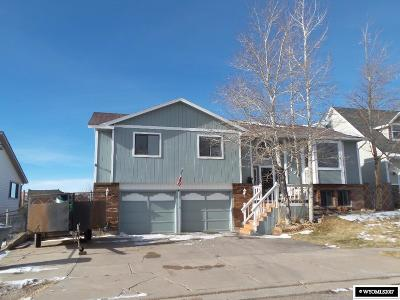 Evanston WY Single Family Home For Sale: $189,900
