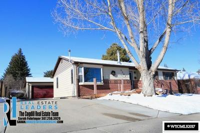 Casper Single Family Home For Sale: 3200 Monte Vista