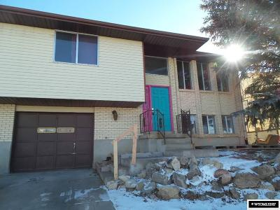 Evanston WY Single Family Home For Sale: $65,000