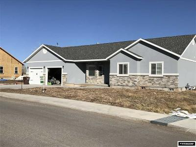 Mountain View WY Single Family Home Pending-Continue To Show: $299,900
