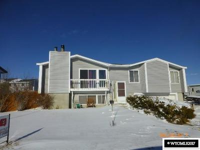 Kemmerer Single Family Home For Sale: 1409 Coulson Ave
