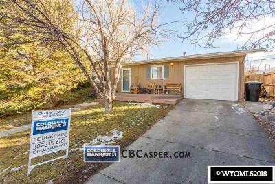 Casper, Evansville, Bar Nunn, Glenrock, Douglas, Midwest, Alcova Single Family Home For Sale: 1911 Brentwood