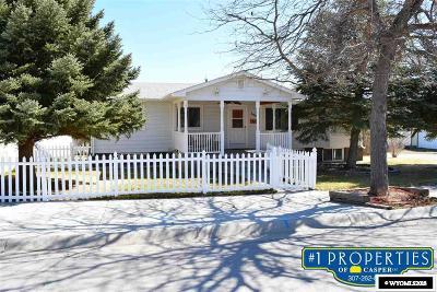 Glenrock Single Family Home For Sale: 322 S 2nd