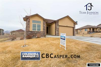 Casper Single Family Home For Sale: 5151 Cheney Loop