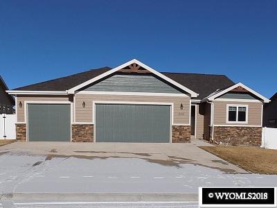 Casper Single Family Home New: 4280 Drayton