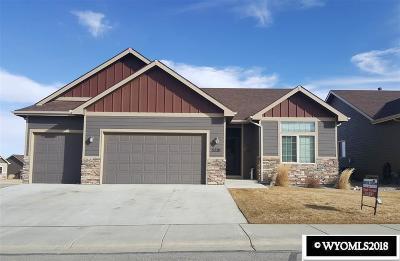 Casper Single Family Home New: 5220 Gladstone