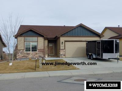 Casper Single Family Home New: 5240 Gladstone