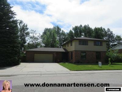 Casper Single Family Home New: 3225 Bella Vista