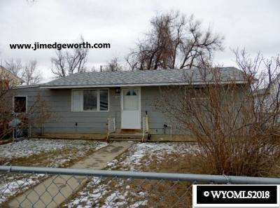 Casper Single Family Home New: 1416 Jim Bridger