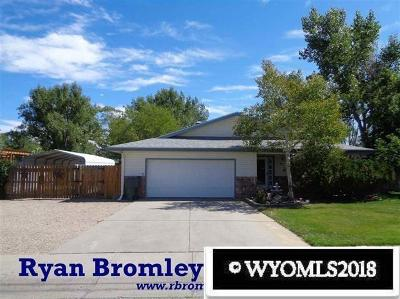 Casper Single Family Home For Sale: 215 Sunflower
