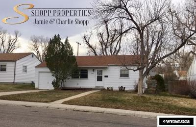 Casper Single Family Home For Sale: 2726 Hanway