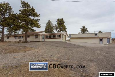 Casper, Evansville, Bar Nunn, Glenrock, Douglas, Midwest, Alcova Single Family Home For Sale: 2755 Garden Creek