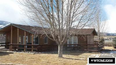 Dubois,  Kinnear,  Crowheart, Pavillion Single Family Home For Sale: 100 Deer Haven