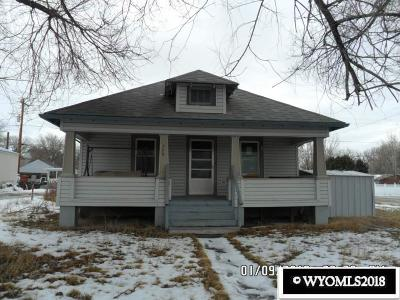 Single Family Home Back On Market: 739 S 4th St