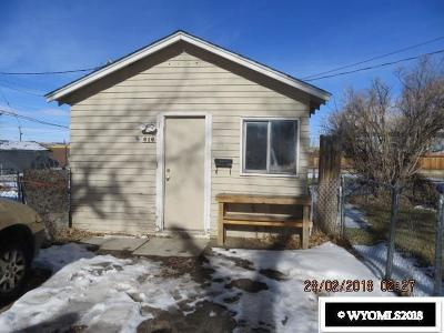 Casper Single Family Home For Sale: 618/616 W 9th St
