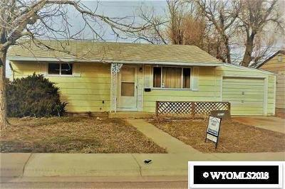 Casper Single Family Home For Sale: 2624 Coulter
