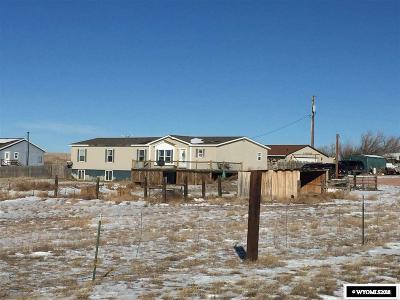 Glenrock Single Family Home For Sale: 9 N Badger