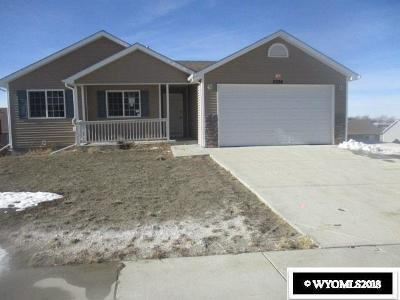 Casper WY Single Family Home Back On Market: $186,000