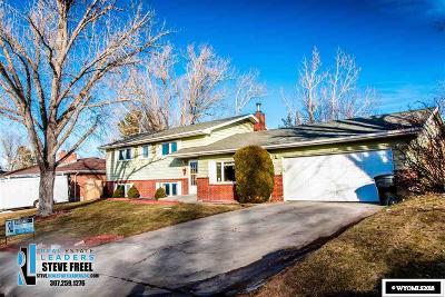 Casper Single Family Home For Sale: 1321 Nottingham