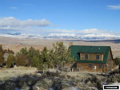 Dubois,  Kinnear,  Crowheart, Pavillion Single Family Home For Sale: 125 Soda Springs