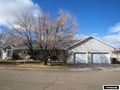 Mountain View WY Single Family Home For Sale: $230,000