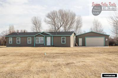 Fort Bridger Single Family Home For Sale: 278 County Rd 224